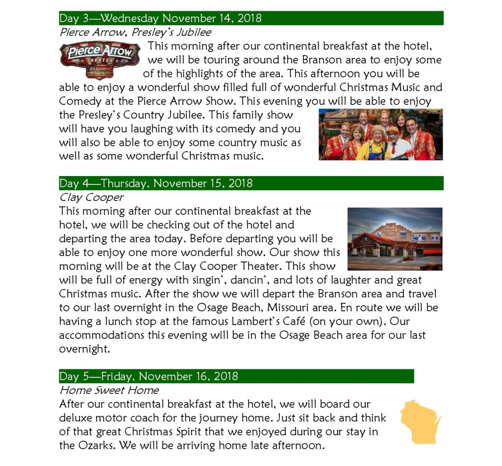Branson Country Christmas Nov2018 Itinerary-page-002