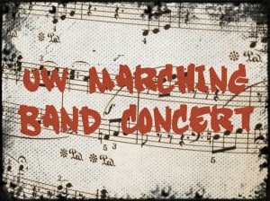 UW Marching Band Concert 2015 WEBSITE